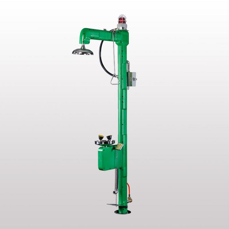 博化复合式电伴热洗眼器(绿色ABS)