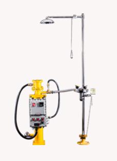 博化304复合式电加热洗眼器