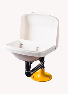 博化台式洗眼器(联动翻盖)