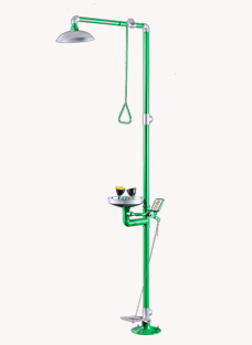 博化特别防腐复合式洗眼器(304+绿色ABS)