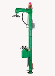 BH30-1062L复合式电伴热洗眼器(绿色ABS)