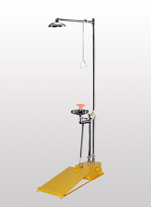 BH30-5012T大踏板复合式洗眼器